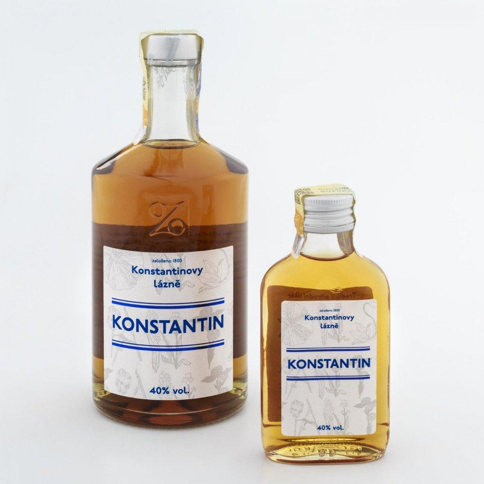 Bylinný likér Konstantin