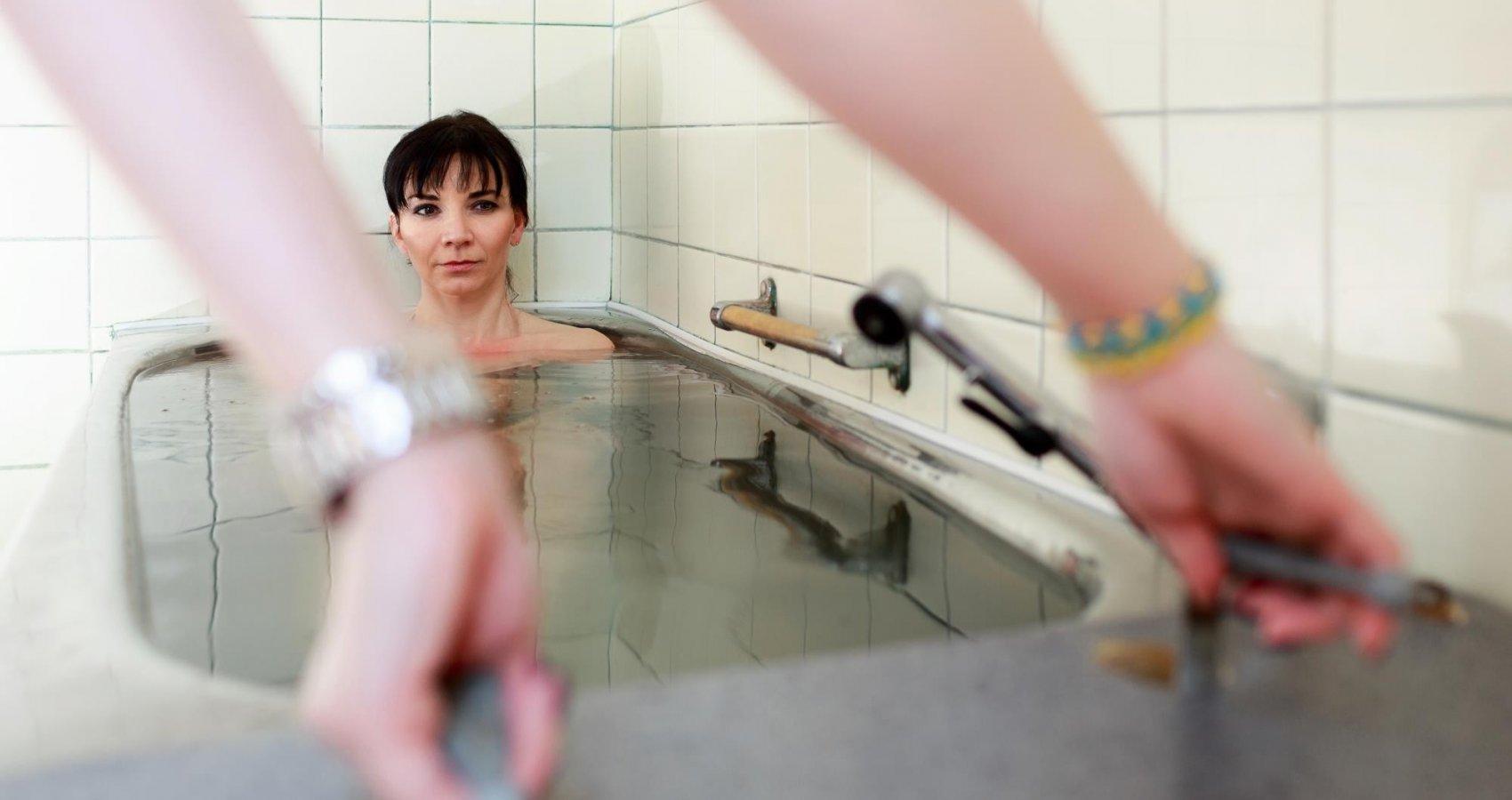 Uhličitá koupel v lázeňském hotelu Prusík