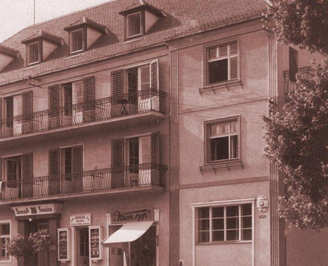 Hotel Jirásek před rekonstrukcí