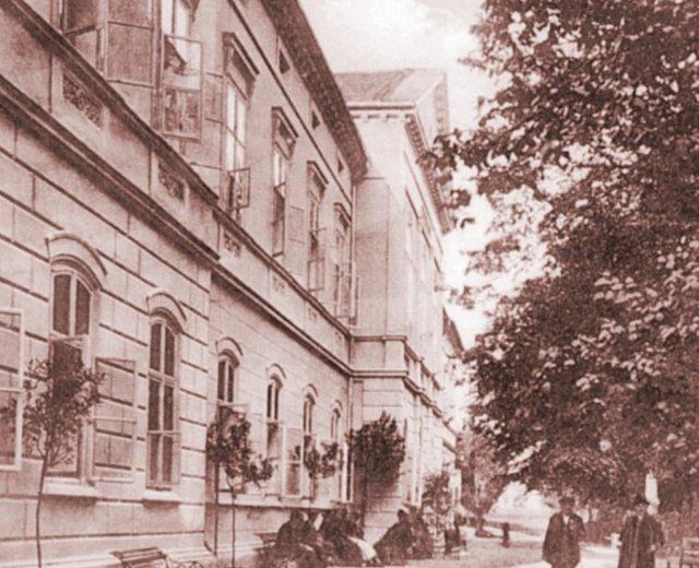 Hotel Prusík před rekonstrukcí