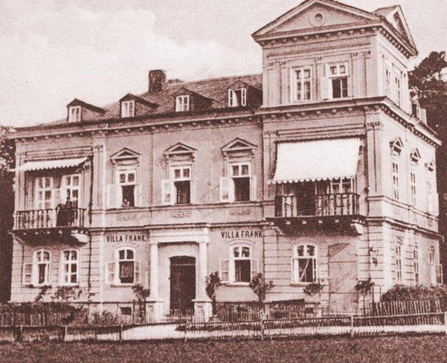 Dům Mánes před rekonstrukcí