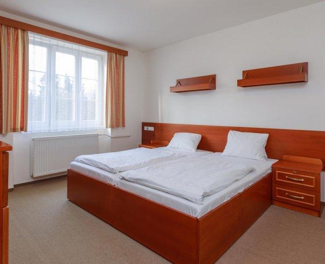 Suite Komfort v lázeňském hotelu Prusík