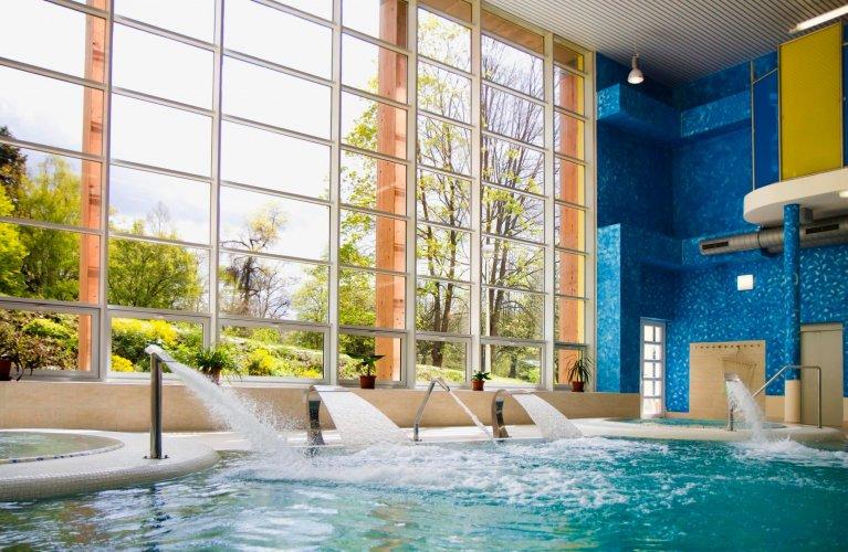 Bazén a relaxace