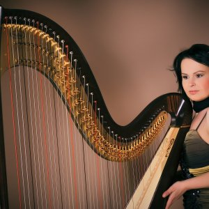 Večer s harfou